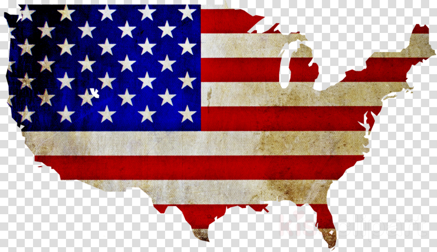 Veterans Day American Flag clipart.