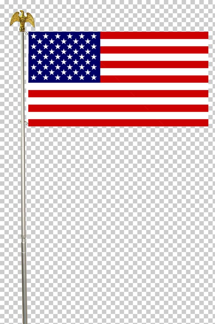 Flag of the United States American Civil War Flagpole, pole.