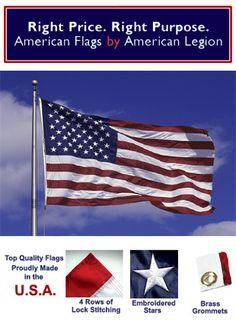 American Legion Flags on Pinterest.