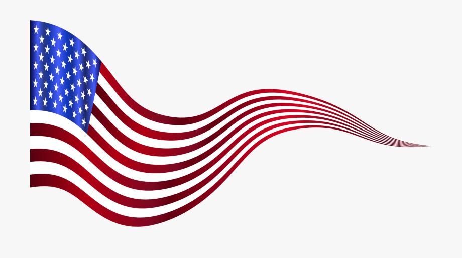 Usa Flag Clip Art Png.
