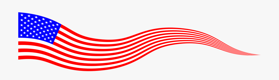 Flag Of The United States Banner Clip Art.
