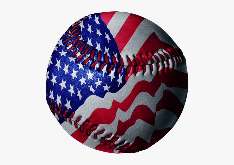 Baseball Clipart American Flag.