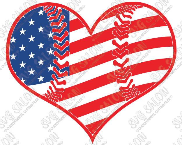 2828 American Flag free clipart.
