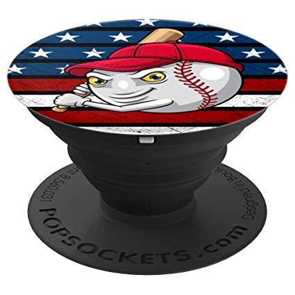Amazon.com: American Flag Baseball Patriotic Sport Bat Red.