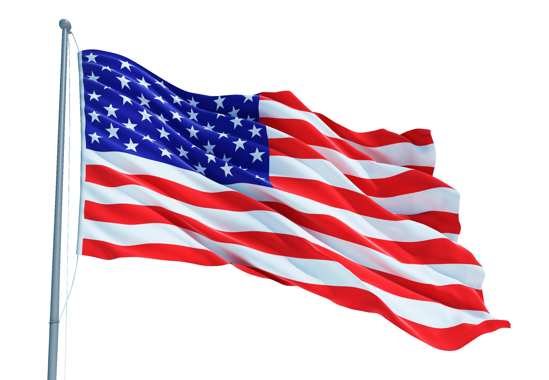 Flag of the United States Raising the Flag on Iwo Jima.