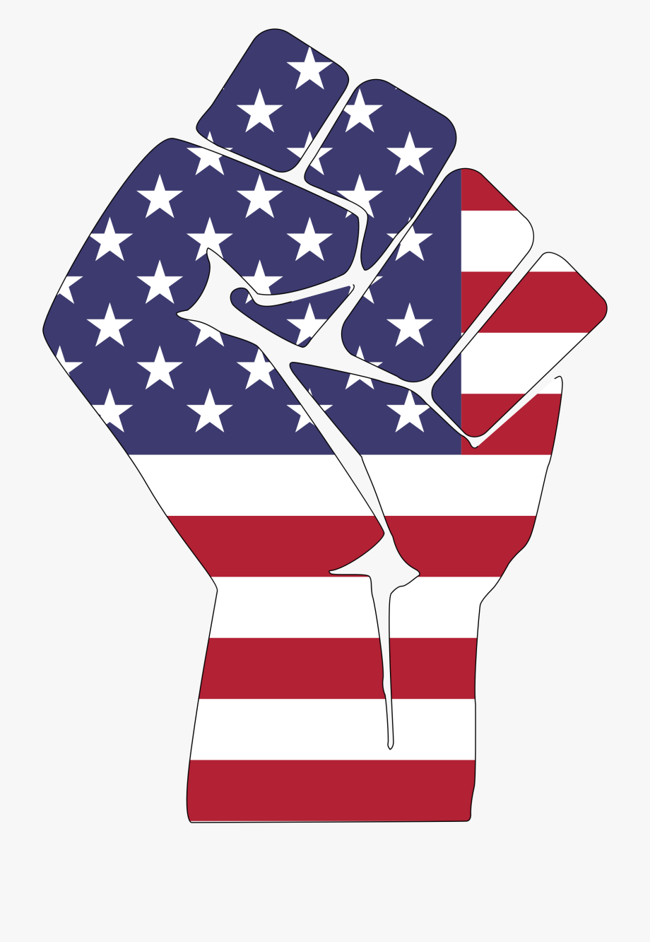 Fist Clipart American.