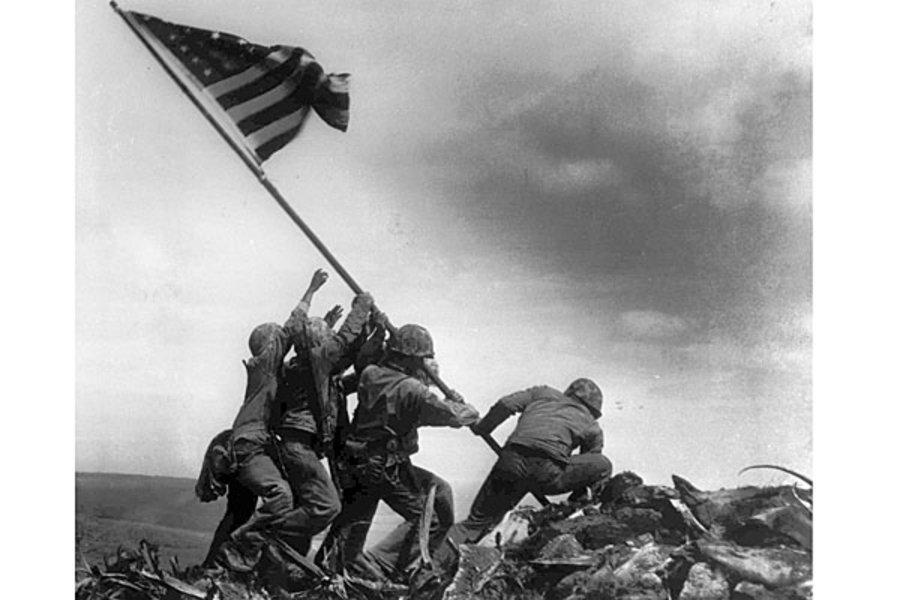 Alan Wood dies, leaves legacy of Iwo Jima flag.