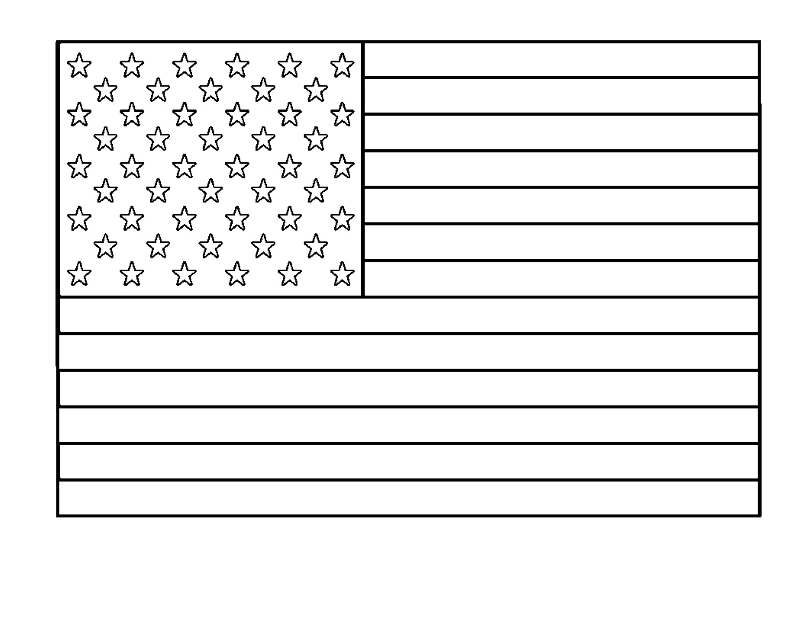 Free American Flag Clip Art Black And White, Download Free Clip Art.