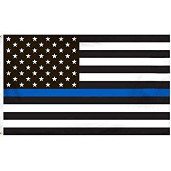 Amazon.com : Thin Blue Line American Flag.