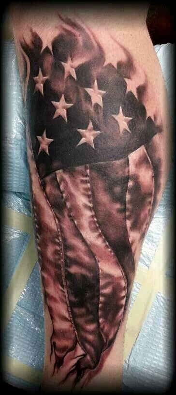 25+ best ideas about American Flag Tattoos on Pinterest.