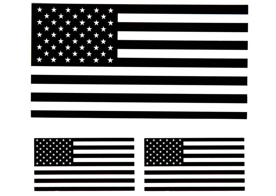 Free American Flag Clip Art Black And White, Download Free.