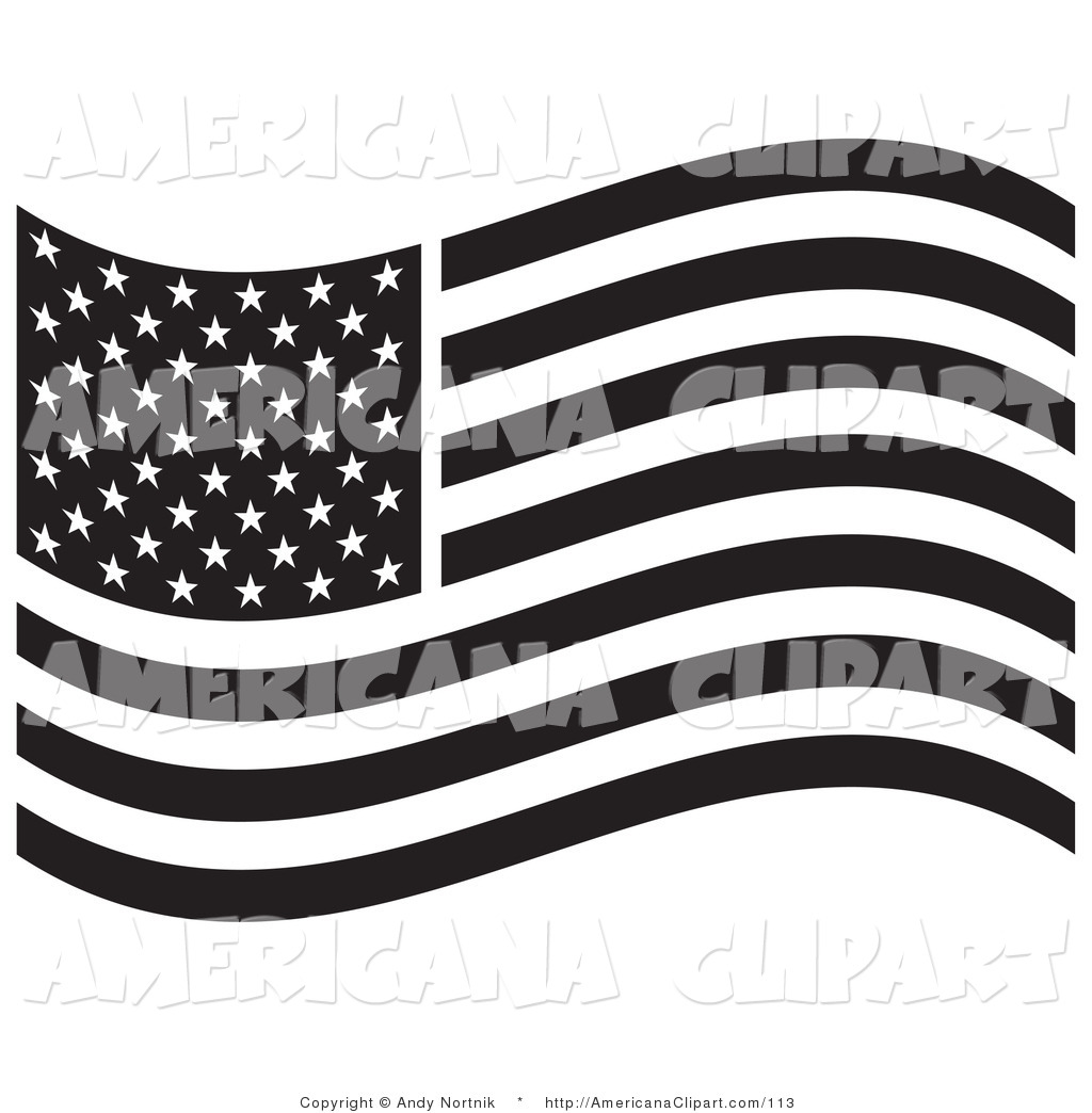 78 Flag Black And White free clipart.