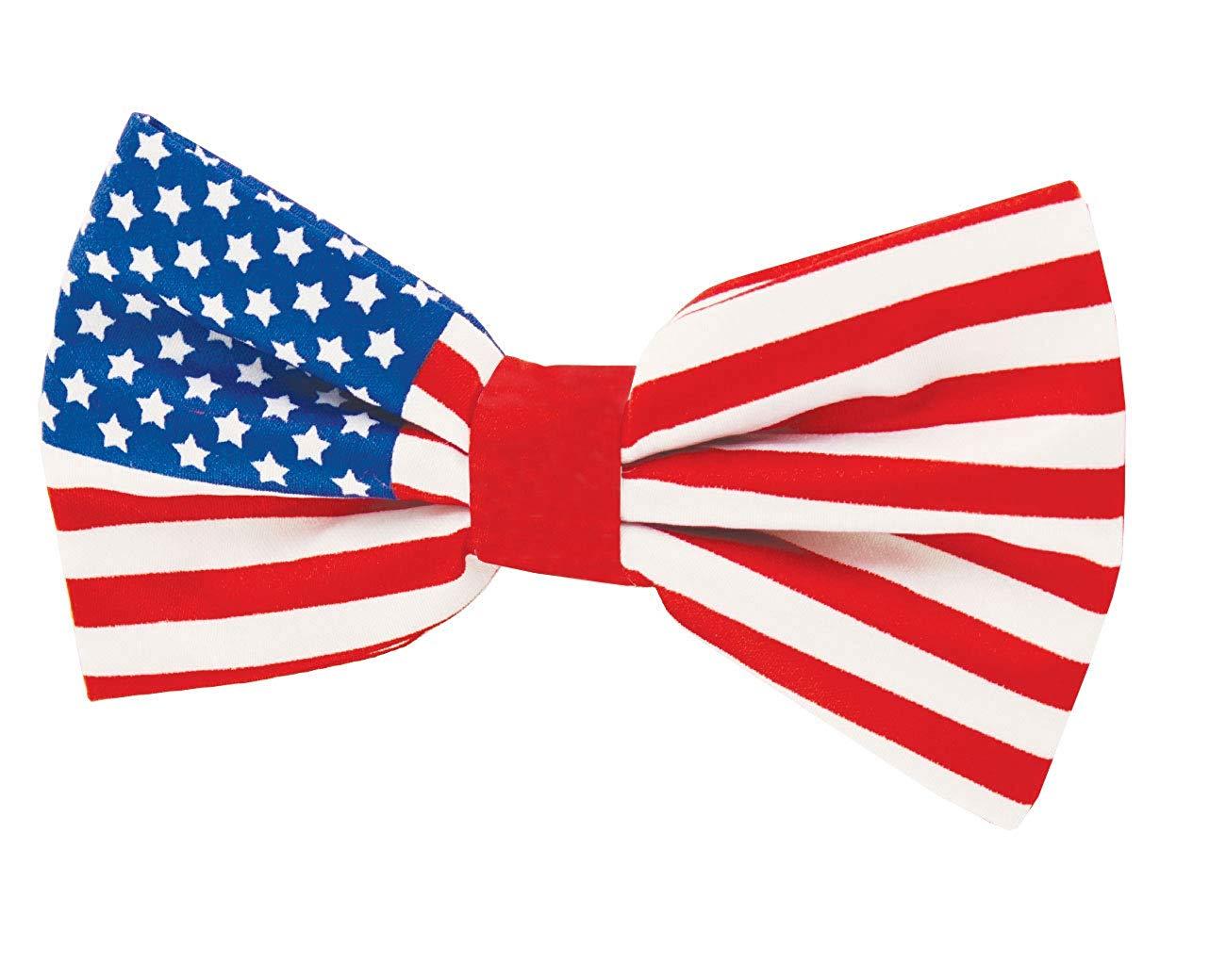 Amazon.com: Dobell Mens Stars and Stripes USA Flag Bow Tie.