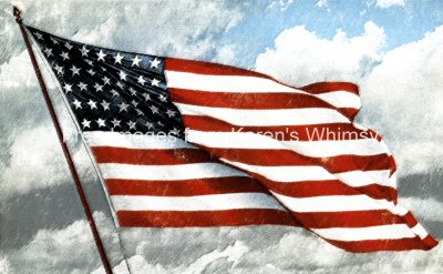American Flag Clipart 1.