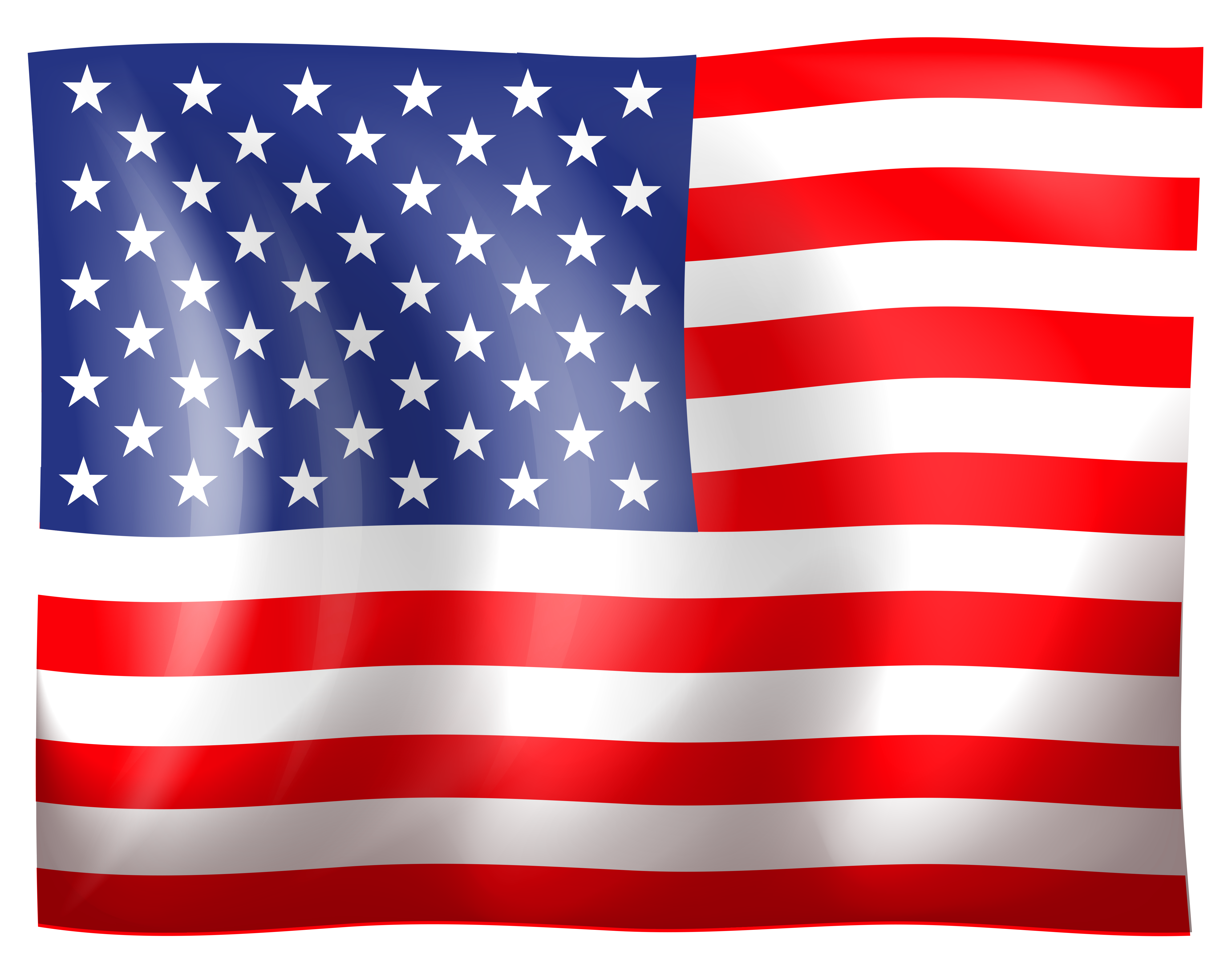 American flag clipart side.