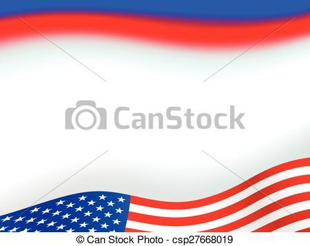 American flag background clipart 3 » Clipart Portal.
