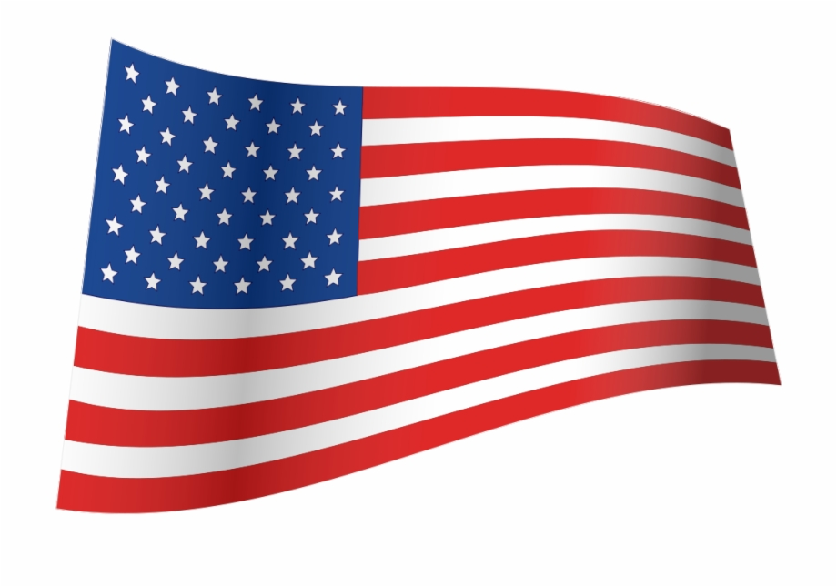 Wave American Flag.