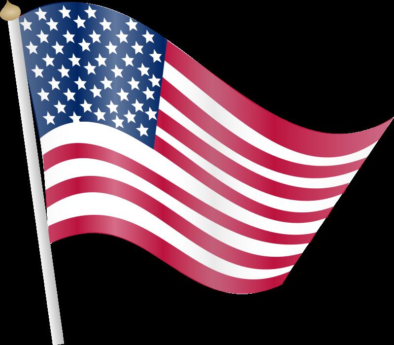 Free American Flag Clip Art Transparent, Download Free Clip.
