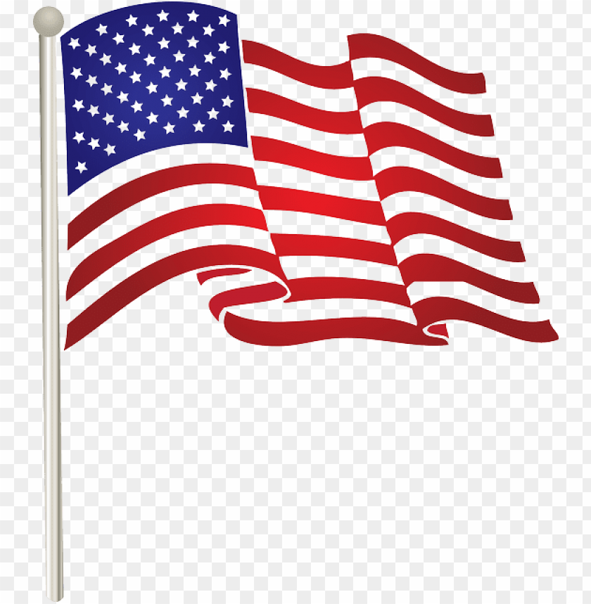 american flag clipart fourth july.