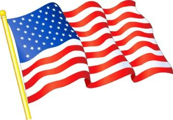 American flag clipart free usa flag.