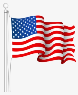 Free American Flag Clip Art with No Background.