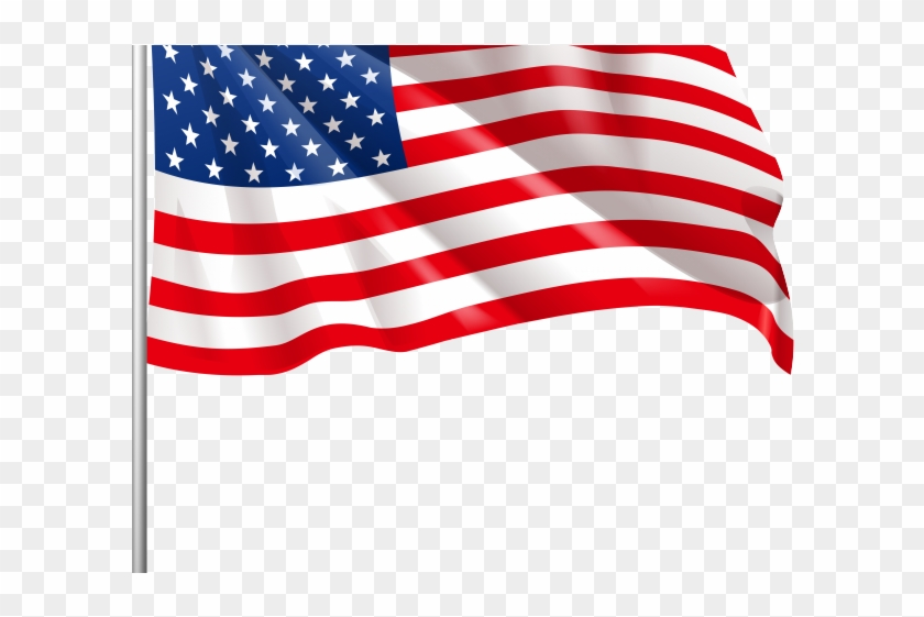 Drawn American Flag Png.