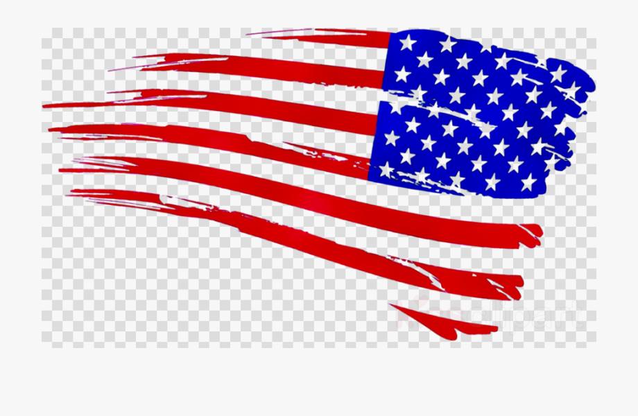 Us Flag Clipart Svg.