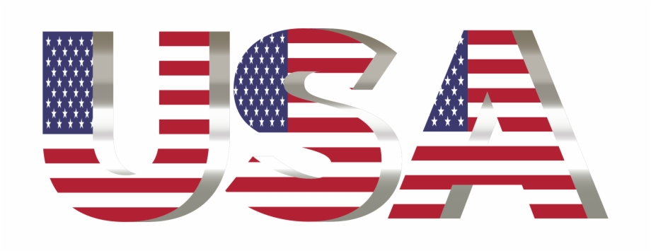 American Flag Clipart Transparent Background.