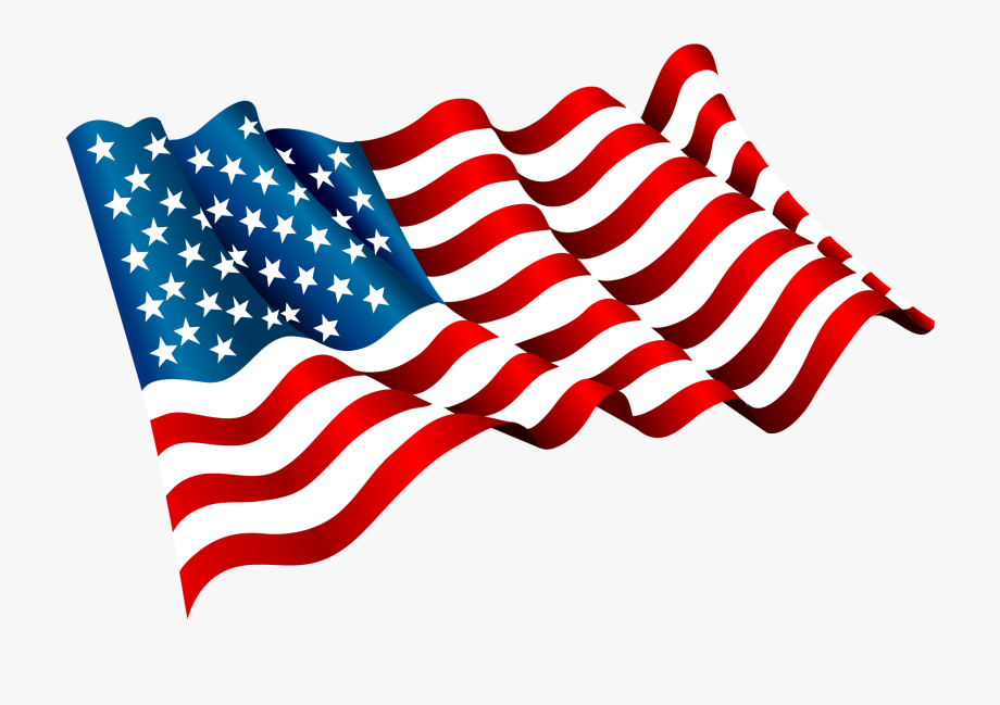 Flag Of The United States Clip Art.