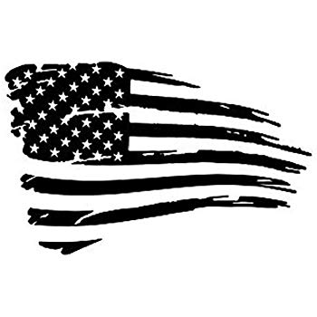 Amazon.com: Az AutoGraphics Distressed USA American Flag.