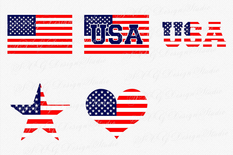 SVG Flag, Vector US Flag, USA flag, clipart american flag, Fourth of July  svg, Patriotic svg.