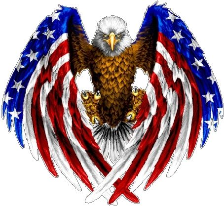 Free Pictures Of Eagles With American Flag, Download Free Clip Art.