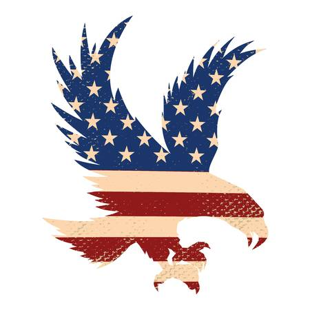 3,645 American Flag Eagle Stock Illustrations, Cliparts And Royalty.
