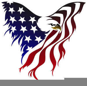 American Flag And Eagle Clipart.