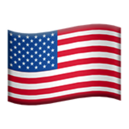 United States Emoji (U+1F1FA, U+1F1F8).