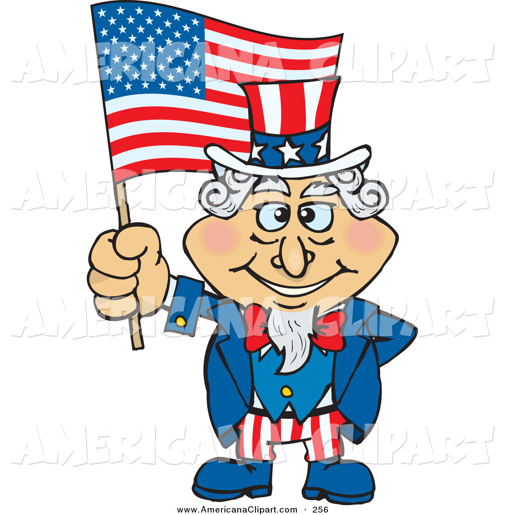 American flag flexing clipart Transparent pictures on F.