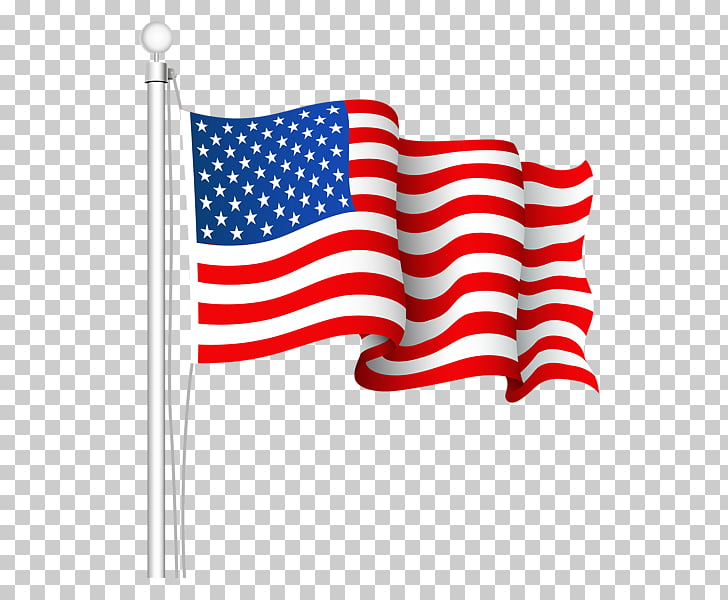 Flag of the United States , american flag, USA flag animated.