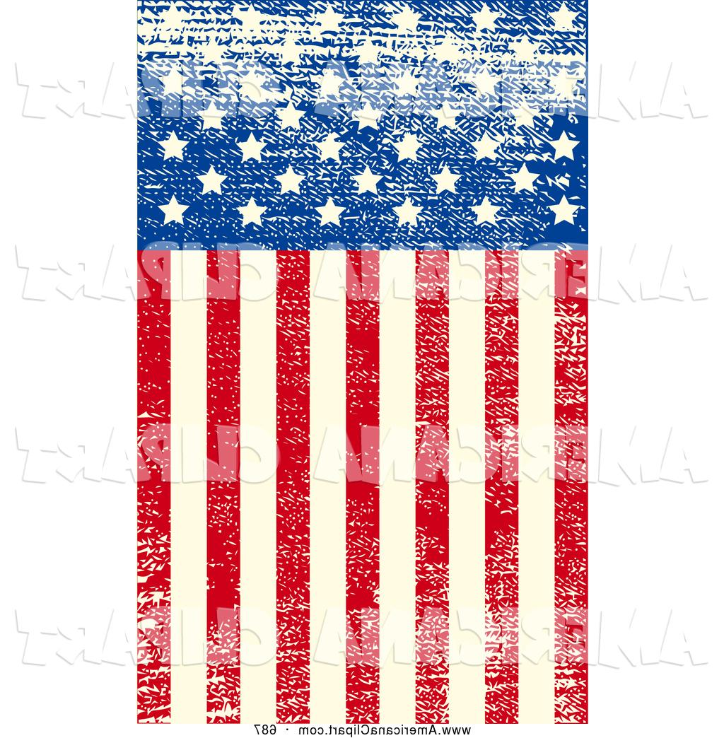 Unique Vector Clip Art Of American Flag High Resolution File Free.