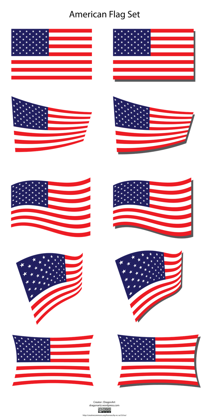 American Flag Clip Art to Download.