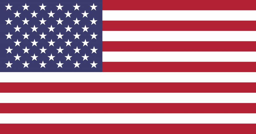 The United States flag icon.