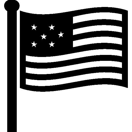 Usa flag Icons.
