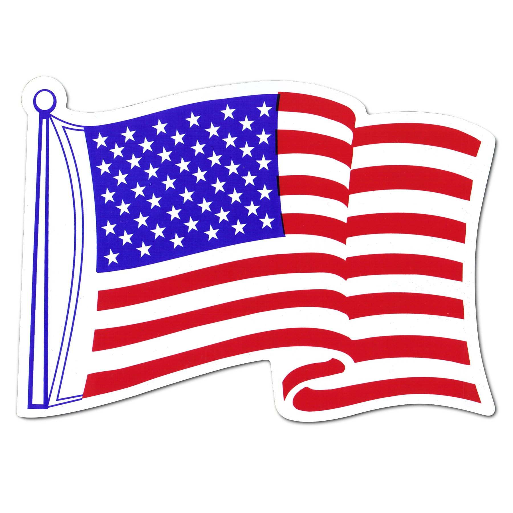Flying Flag Clipart.