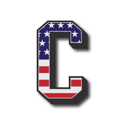 American Flag 3D Letter \
