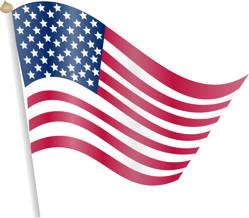 Free to Use & Public Domain American Flag Clip Art.