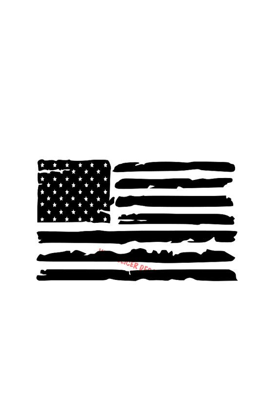 Police Flag Clipart Black And White.