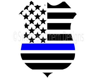 American Flag On Police Clipart 20 Free Cliparts