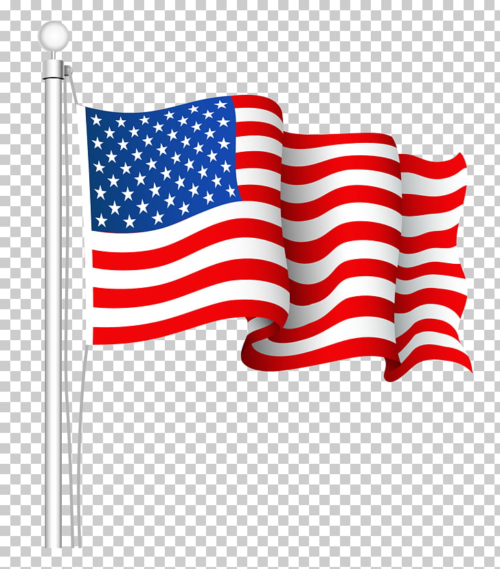 Flag of the United States , USA flag PNG clipart.