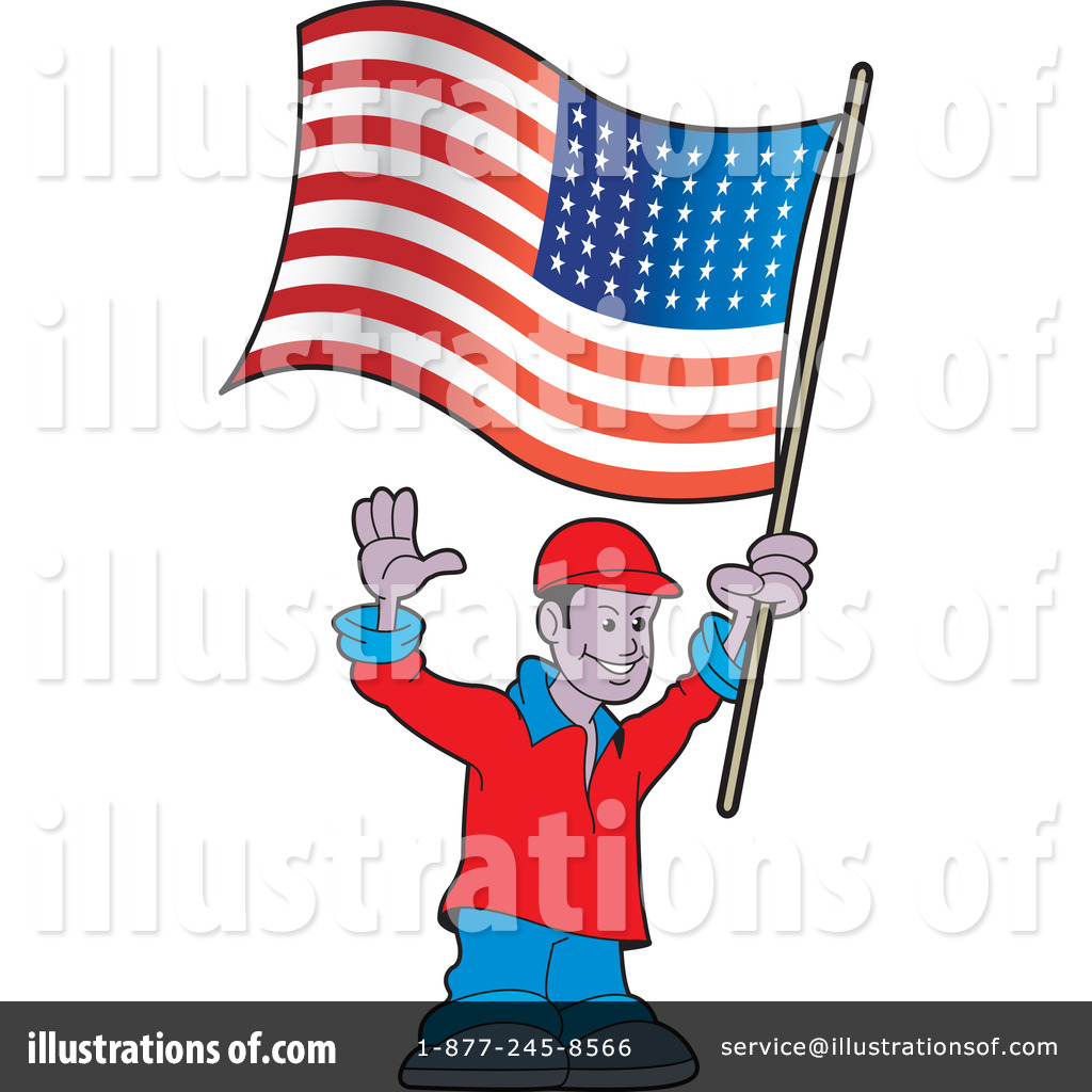 American Flag Clipart #1108028.