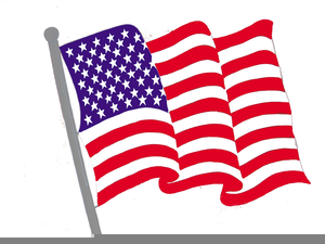 Us Flag Free Clipart.