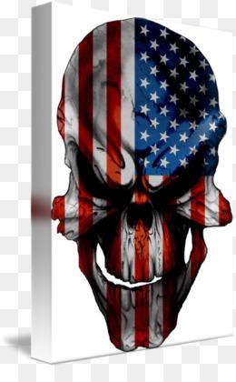 American Flag Skull PNG and American Flag Skull Transparent.